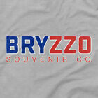 Chicago Cubs Shirt BRYZZO Souvenir Company Logo Emblem Icon Gray T Bryant Rizzo on Ebay