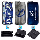 Tampa Bay Lightning Leather Wallet Purse Zip Around Card Phone Holder $16.99 USD on eBay