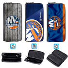 New York Islanders Leather Wallet Purse Zip Around Card Phone Holder $16.99 USD on eBay