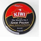 KIWI Dark Tan,Black, BURGUNDY Shoe wax Polish protect, nourishes and glossy 36g