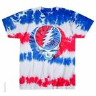 GRATEFUL DEAD-AMERICAN SYF-USA-STEAL YOUR FACE-TIE DYE T SHIRT M-L-XL-2X Garcia image