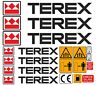 More images of TEREX DUMPER MINI DIGGER DECALS STICKERS