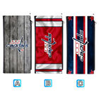Washington Capitals Leather 16 Slot Wallet Card ID Holder Purse $13.99 USD on eBay