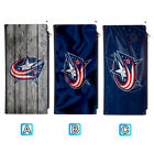 Columbus Blue Jackets Leather 16 Slot Wallet Card ID Holder Purse $13.99 USD on eBay
