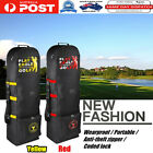 Upgraded Flight Travel Sport Golf Bag Carrying Coverall Case Carrier With Wheels