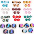 Внешний вид - 14 18mm Faceted Glass Crystal Rondelle Beads Spacer Loose Bead Finding 10Pcs