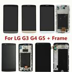 For LG G4 G5 G3 G6 LCD Display Touch Screen Digitizer Frame Assembly Replacement