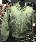 Genuine Alpha Industries Core Line Flight CWU 45 Sage Green Bomber Jacket