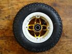200 x 50 Kite Mountain board Crossair Vegas Hub  Tube  Tire  and Bearing. Gold-W