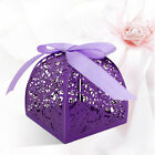 US 10/50x Hollow Candle Candy Boxe Christma Wedding Party Favor Gift Wrap Bag BY
