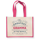 Gramma Gift Birthday Bag Personalised Keepsake Present Tote Christmas Gift Idea