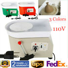 350W Pottery Wheel Ceramic Machine Work Clay Art Craft DIY 25cm US Plug Colored image