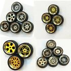 1/64 Scale Alloy Wheels - Custom Hot Wheels, Matchbox,Tomy, Rubber Tires