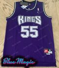 New Jason Williams Throwback Swingman Jersey #55 Sacramento Kings Purple Mens US on eBay