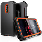 For LG Stylo 6/4/5 Plus Armor Case Shockproof Cover+Kickstand Belt Clip Holster