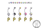 Pittsburgh Pirates Silver Belly Button Navel Ring - Customize Gem Color - NEW on Ebay
