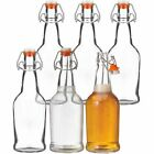 Glass Bottles with Swing Top Cap For Beer Juices Kombucha  Home Brewing
