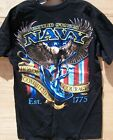 USN US Navy Fighting Eagle 7.62 Design T-Shirt Sizes M and XL - FREE Shipping