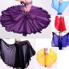 Belly Dancer Dancing Skirt 720 Degree Chiffon Full Circle Expansion Gypsy Skirts