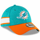 New Era 2018 Men's Miami Dolphins Sideline Home 39Thirty Fitted Hat On Field on eBay