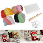 Needle Wool Felt Mat Set Material Package Handwork DIY Craft Sewing Tool New