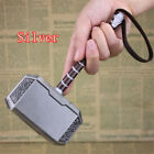 HOT! Full Metal Avengers Thor Hammer 20cm Replica Prop Mjolnir Thor Weapon