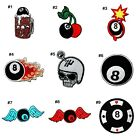 Lucky 8 Snooker Ball Biker Rock Punk Tattoo Emblem Clothing Jeans Iron on patch $2.99 USD on eBay