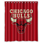 Chicago Bulls Basketball NBA Custom Waterproof Fabric Shower Curtain Bathroom on eBay