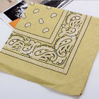 Unisex Bandana Cotton Paisley Print Scarf Head Wrap Neck Headband