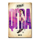 Solo A Star Wars Story Movie Emilia Clarke Qi'Ra Canvas Poster 8x12 24x36 inch $5.94 USD on eBay