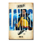 Solo A Star Wars Story Movie Donald Glover Lando Calrissian Canvas Poster Print $5.94 USD on eBay
