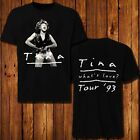 RARE Vintage 1993 Tina Turner T-Shirt Love Tour 90s Graphic image
