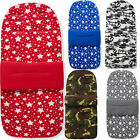 Fleece Pushchair Footmuff / Cosy Toes Compatible with Abc Design