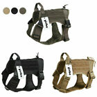 K9 Tactical Service Dog Harness Military Vest for Medium Large Dog with Handle