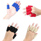 10Pcs Elastic Finger Protector Sleeve Support Arthritis Sports Aid Straight Wrap $4.83 USD on eBay