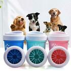 Dog Paw Cleaner Pet Cleaning Brush Cup Dog Foot Clean Feet Portable Wash Barrel