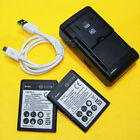 3320mAh Rechargeable BL-52UH Battery or Charger for LG Escape 2 H443 H445 Phones