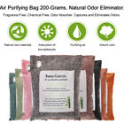 Accessory Bamboo Charcoal Bag Decoration 200g Air Purify Purifier Brand New Hot