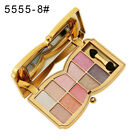 10 Colors Eyeshadow Palette Beauty Makeup Shimmer Eye Shadow with Brush G