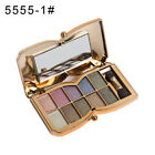 10 Colors Eyeshadow Palette Beauty Makeup Shimmer Eye Shadow with Brush GIA