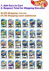 2019 Hot Wheels F - K Case, Mainlines, You PIck Your Customs, $1 Ship each addtl $1.99 USD on eBay