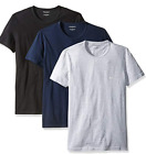 3-Pack Emporio Armani Men's Cotton Crew Neck T-Shirt Size: Small - X-Large image