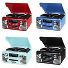 Victrola 50s Retro 3-Speed Bluetooth Turntable Stereo CD Player Speaker Wireless