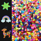 New 500 PCS 2.6MM PP HAMA / PERLER BEADS for GREAT Kids Great Fun 72 colors