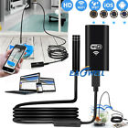 8 LED WiFi Borescope Endoscope Snake Inspection Camera For iPhone Android iOS WQ