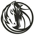 nba015 Dallas Mavericks horse Die Cut Vinyl Graphic Decal Sticker NBA Basketball on eBay