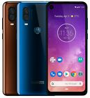 "Motorola One Vision XT1970-1 Dual Sim FACTORY UNLOCKED 6.3"" 128GB 4GB RAM 48MP"