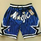 Orlando Magic Vintage Basketball Game Shorts NBA Men's NWT Stitched