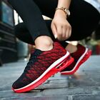 Men Air Cushion Sneakers Light Weight Shock Absorption Mesh Breathable Shoes
