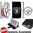American Football Sports Team PU Leather Wallet Case for Samsung LG Huawei HTC $14.93 USD on eBay